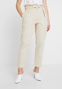 4th & Reckless - ISABELLA TROUSER - Bukse - stone - 0