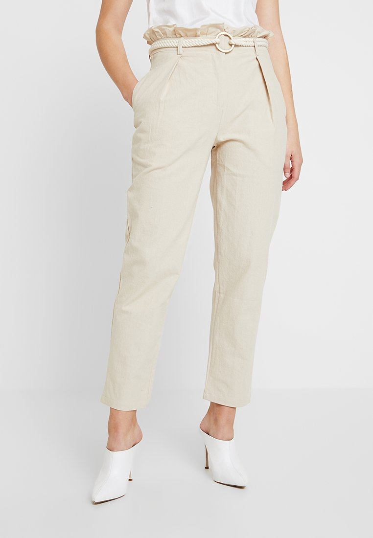 4th & Reckless - ISABELLA TROUSER - Bukse - stone
