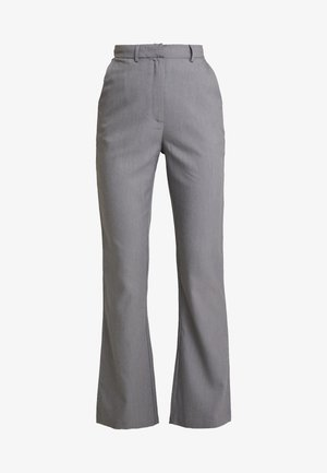 EXCLUSIVE MARIANNA TROUSER - Pantalones - grey