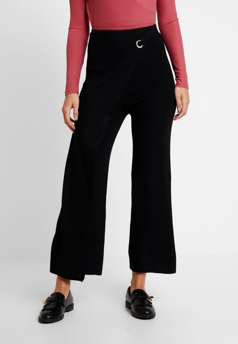 4th & Reckless - DALBY - Stoffhose - black
