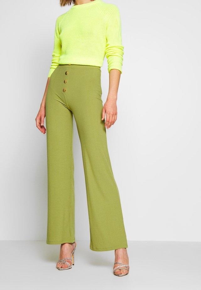 JAX - Trousers - olive