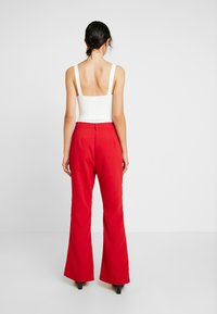4th & Reckless - DION TROUSER - Kalhoty - red - 2