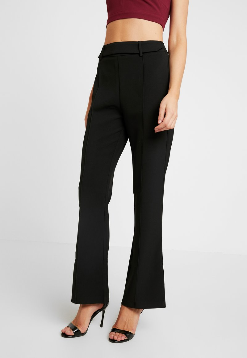 4th & Reckless - TROUSER - Kalhoty - black