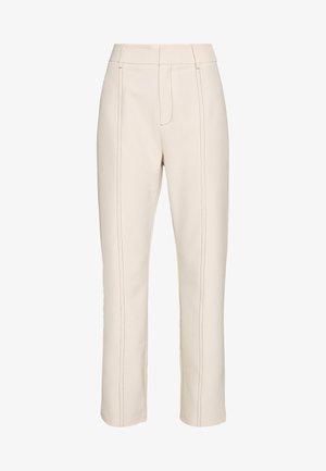 MILO TROUSER - Trousers - cream