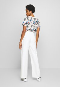 4th & Reckless - ADDIE TROUSER - Trousers - white - 2