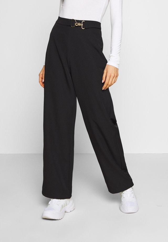 LUELLA TROUSER - Kalhoty - black