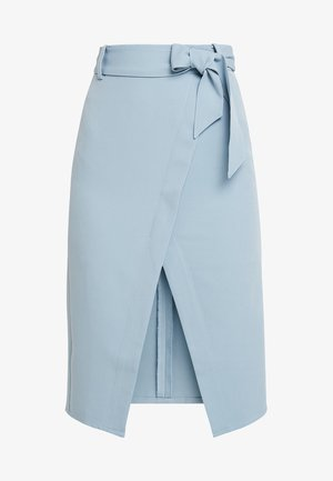 GILLY SKIRT - Wrap skirt - blue
