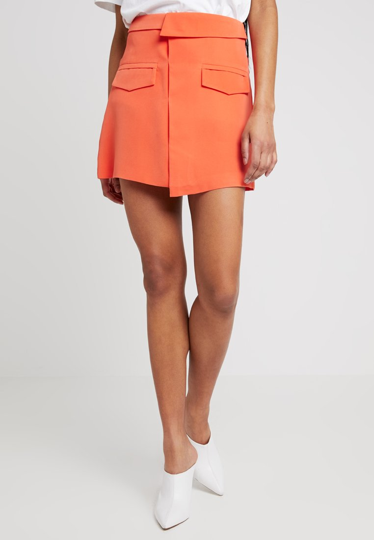 4th & Reckless - ARI SKIRT - Mini skirts  - orange