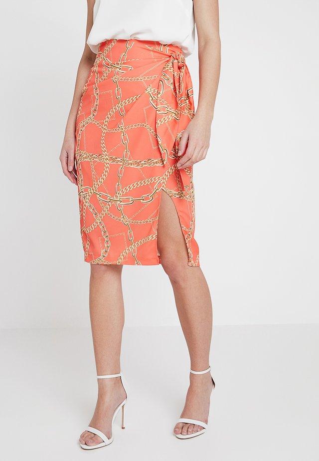 SARRA - Blyantnederdel / pencil skirts - orange