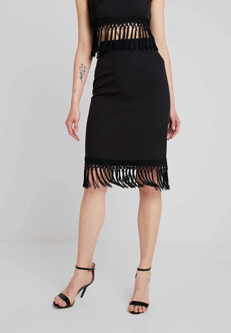 4th & Reckless - OSCAR SKIRT - Blyantnederdel / pencil skirts - black