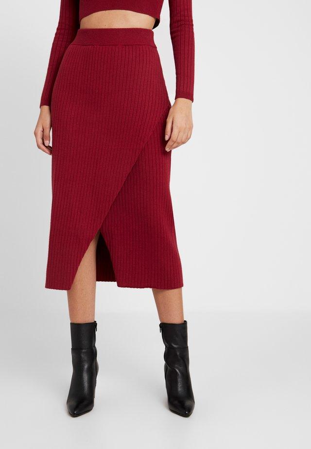 MIA - Blyantnederdel / pencil skirts - rust