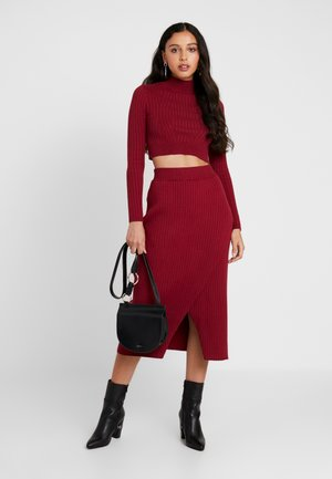 MIA - Pencil skirt - rust