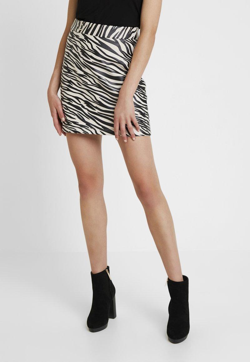 4th & Reckless - CINDY SKIRT - A-line skirt - black