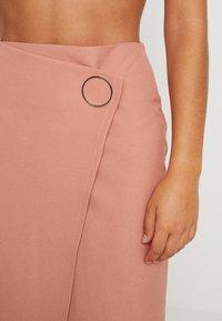 4th & Reckless - WEST SKIRT - Pencil skirt - blush - 4