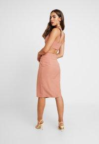 4th & Reckless - WEST SKIRT - Pencil skirt - blush - 2