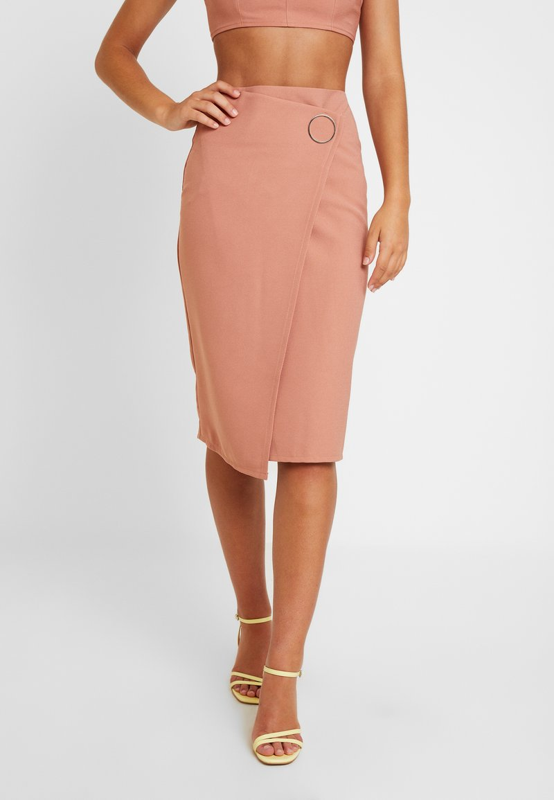 4th & Reckless - WEST SKIRT - Pencil skirt - blush