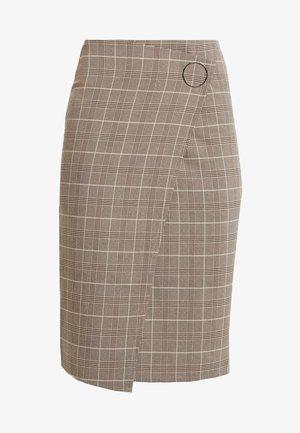 SKIRT - Pencil skirt - brown