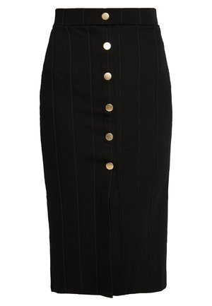 STELLA - Pencil skirt - black