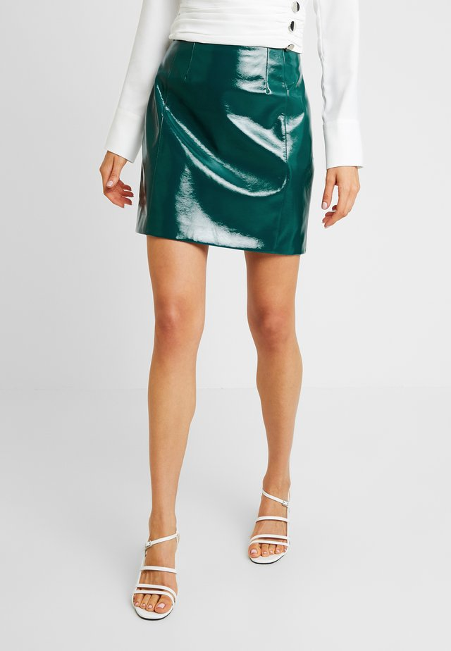 POSIE - Mini skirts  - teal