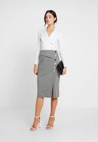 4th & Reckless - CANNON SKIRT - Pencil skirt - houndstooth - 1