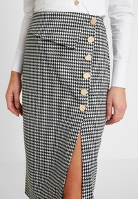 4th & Reckless - CANNON SKIRT - Pencil skirt - houndstooth - 4