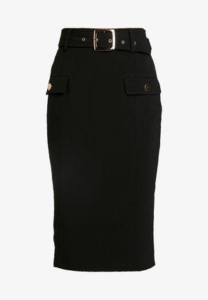 MELANIE - Pencil skirt - black