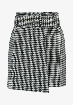 ZOE SKIRT - Wrap skirt - black/white