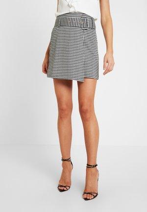 ZOE SKIRT - Zavinovací sukně - black/white