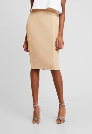 ORLA SKIRT - Pencil skirt - camel