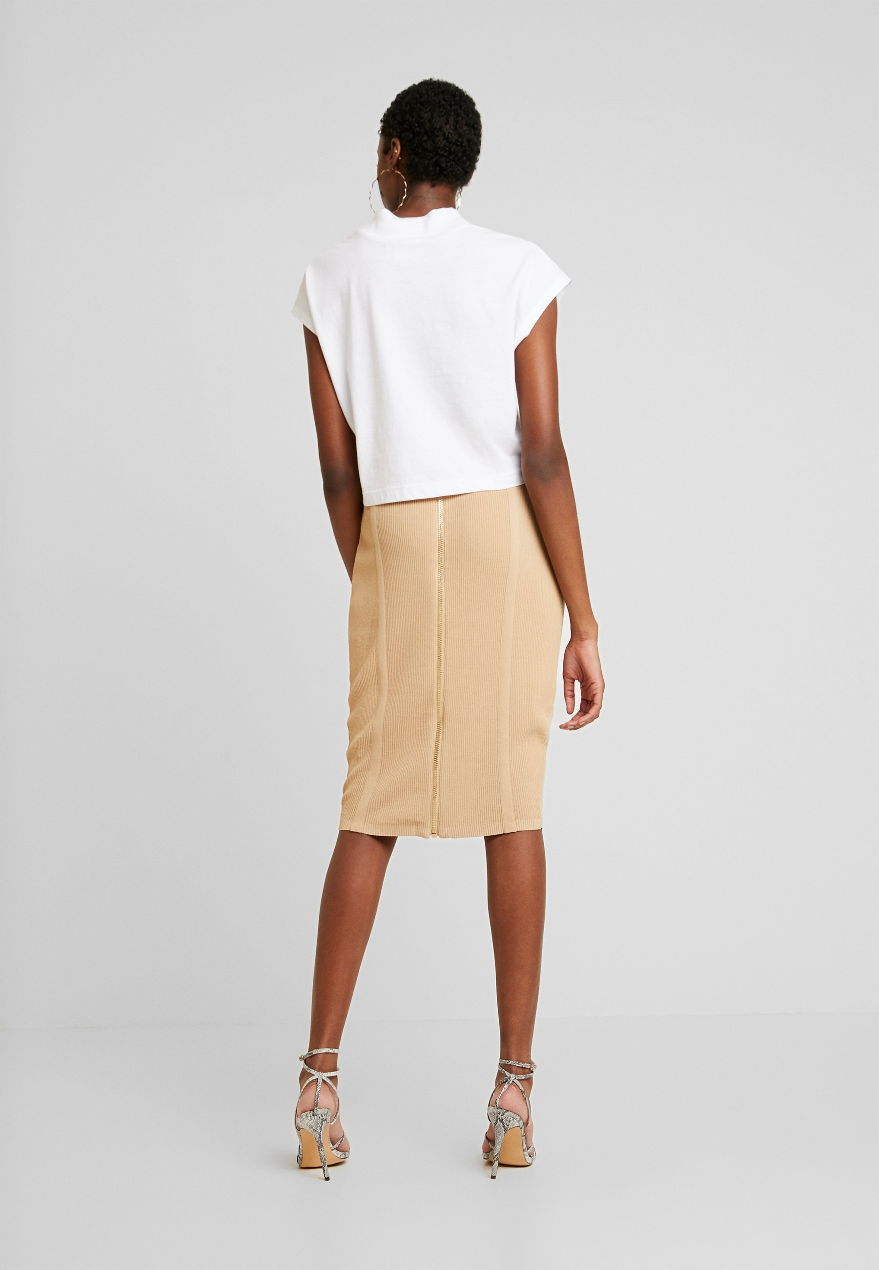 4th & Reckless Orla Skirt - Pennkjol Camel
