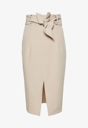 DUCHESS SKIRT - Mini skirt - nude pink