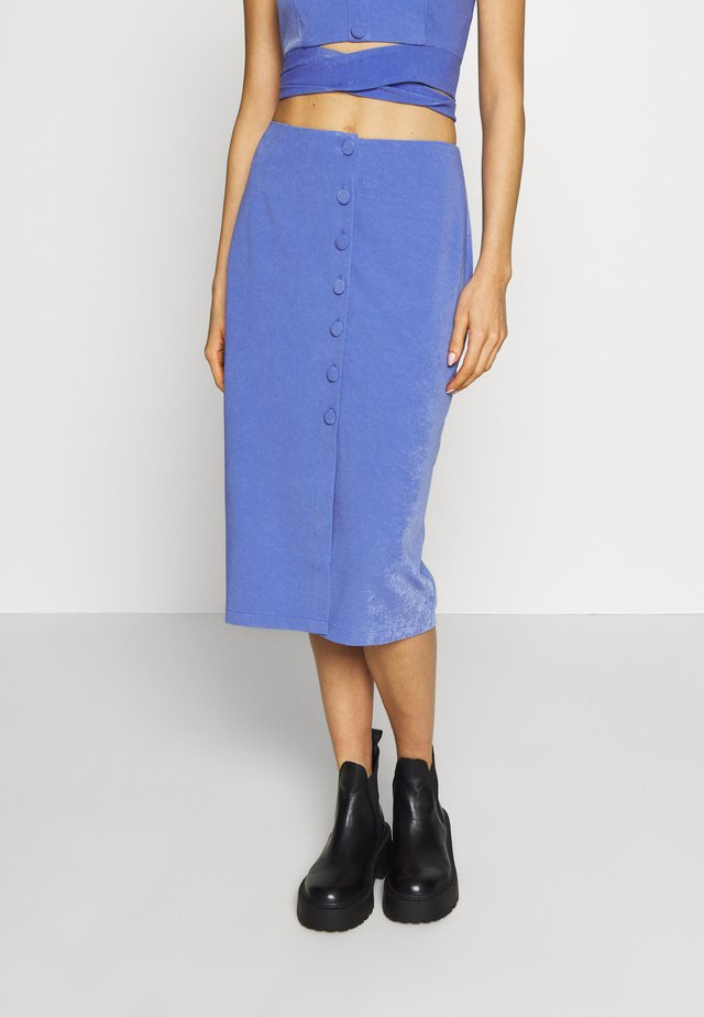 RENEE SKIRT - Pencil skirt - blue