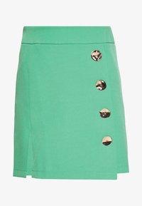 4th & Reckless - IVY SKIRT - Mini skirt - green - 0