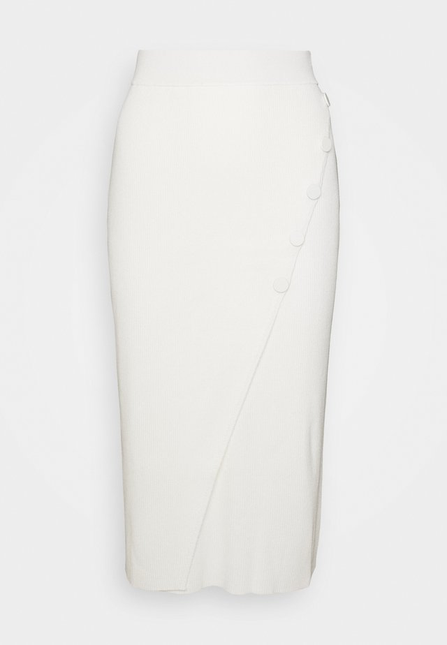 IRIS SKIRT - Pencil skirt - cream