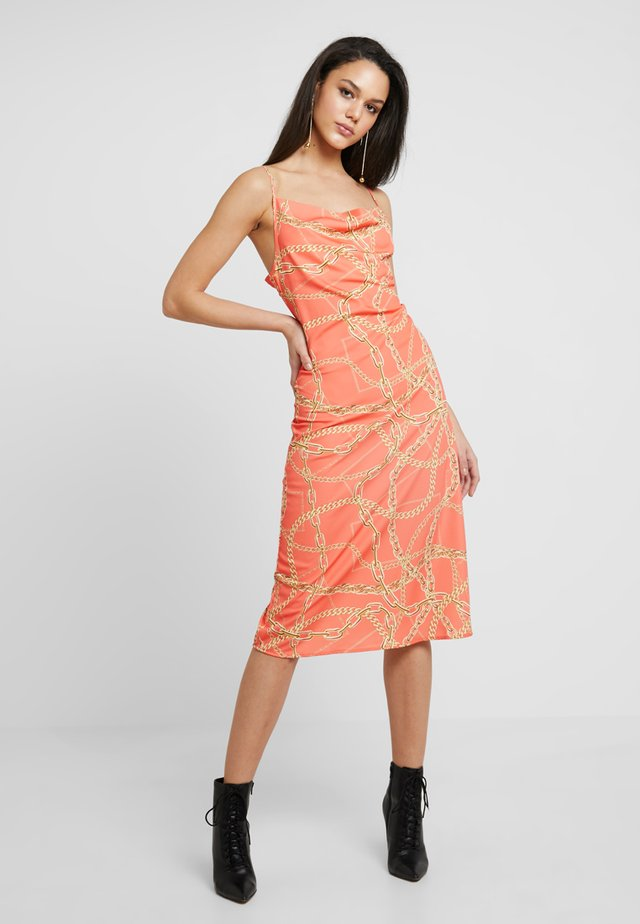 BITTER - Cocktail dress / Party dress - orange