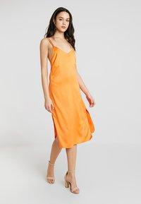 4th & Reckless - ANIMAL LARSEN DRESS - Day dress - orange - 1