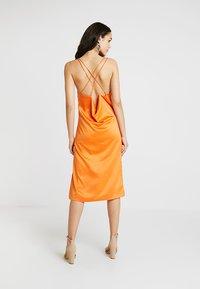 4th & Reckless - ANIMAL LARSEN DRESS - Day dress - orange - 2