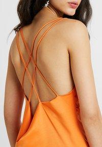 4th & Reckless - ANIMAL LARSEN DRESS - Day dress - orange - 5