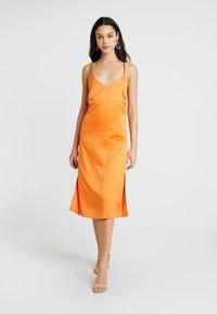 4th & Reckless - ANIMAL LARSEN DRESS - Day dress - orange - 0