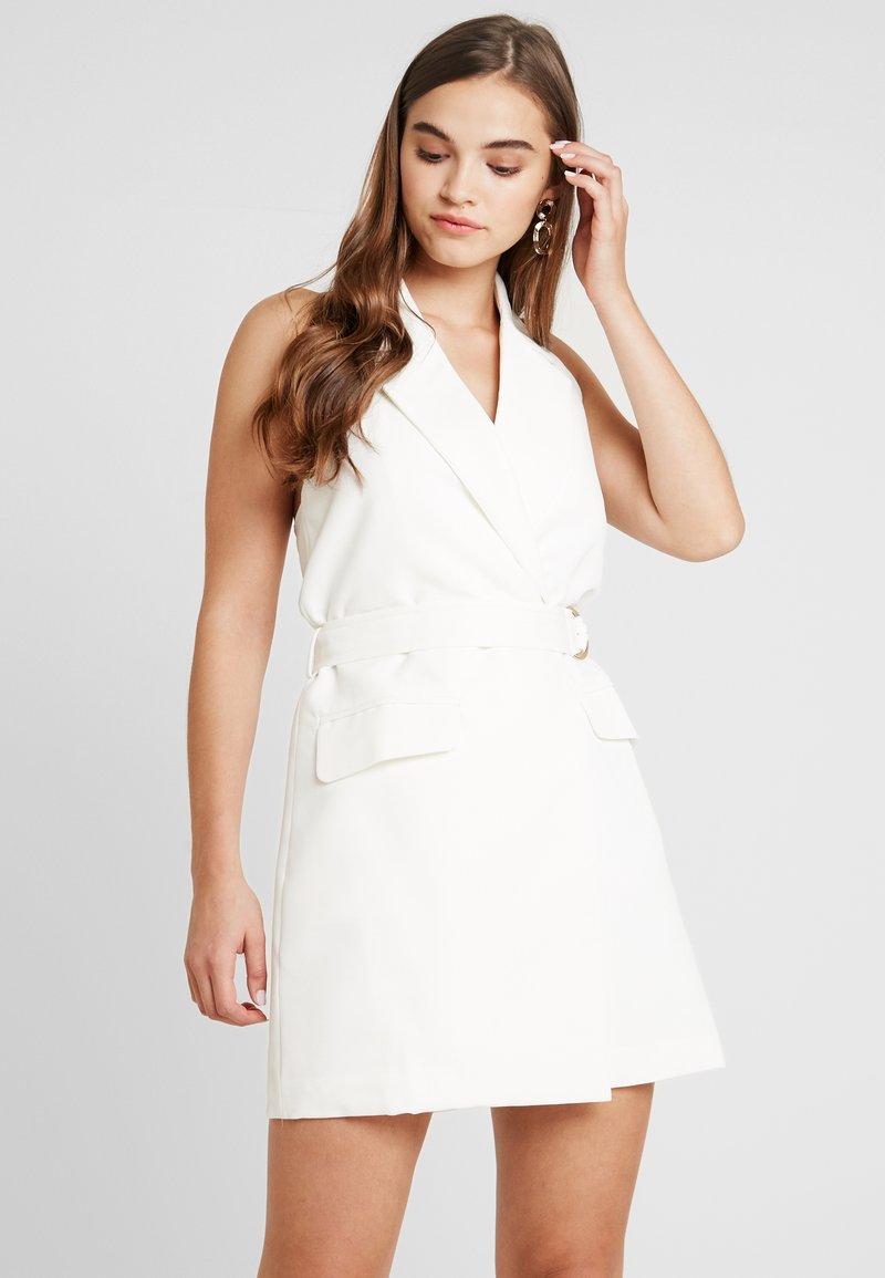 4th & Reckless - BLAZER DRESS - Pouzdrové šaty - white