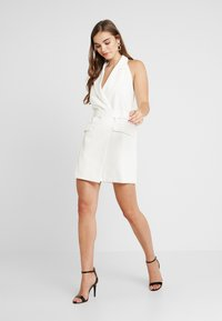 4th & Reckless - BLAZER DRESS - Pouzdrové šaty - white - 1