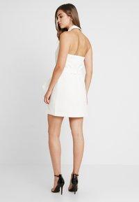 4th & Reckless - BLAZER DRESS - Pouzdrové šaty - white - 2
