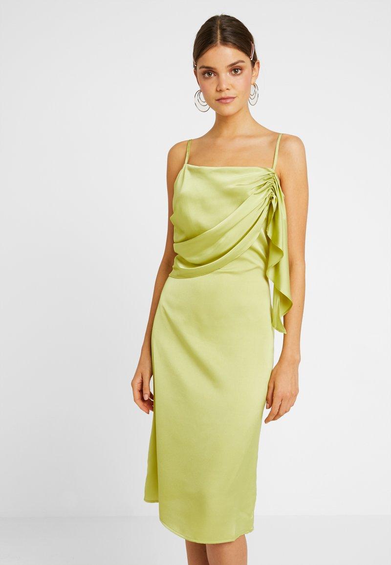 4th & Reckless - DUA DRESS - Vestido de cóctel - lime