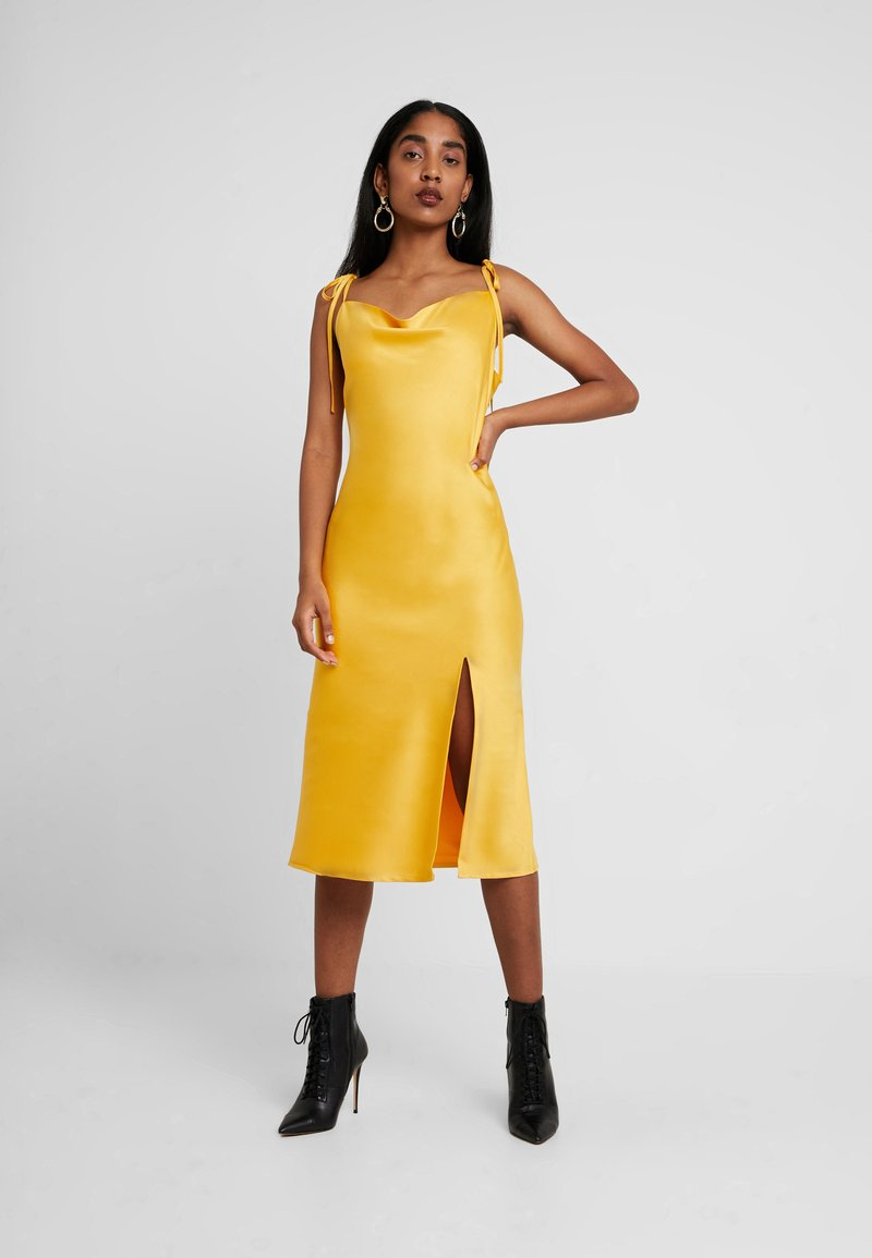 4th & Reckless - EXCLUSIVE AVENUE DRESS - Vestido informal - yellow
