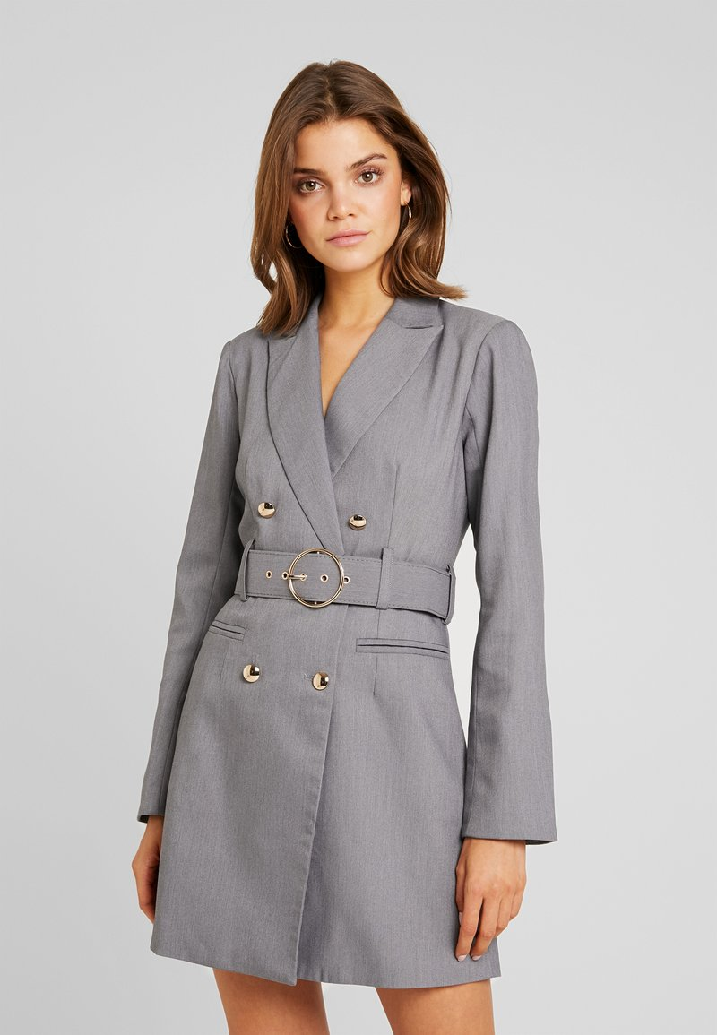 4th & Reckless - EXCLUSIVE MARI BLAZER DRESS - Robe chemise - grey