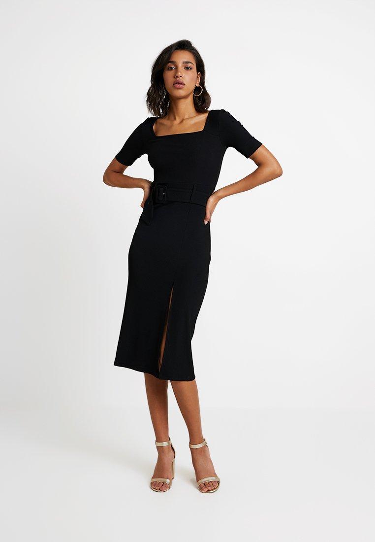4th & Reckless - MADISON - Shift dress - black