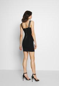 4th & Reckless - HART - Vestido ligero - black - 2