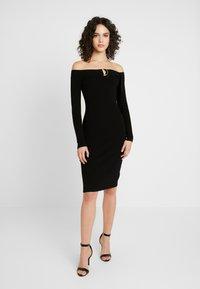 4th & Reckless - PENELOPE - Pouzdrové šaty - black - 0
