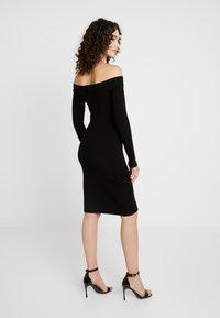 4th & Reckless - PENELOPE - Pouzdrové šaty - black - 3