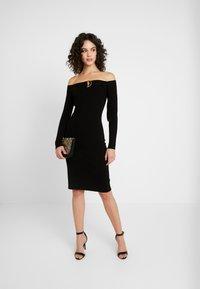 4th & Reckless - PENELOPE - Pouzdrové šaty - black - 2
